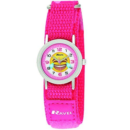Ravel Mädchen Zeitlernuhr Quarz Uhr mit Nylon Armband R1507.58