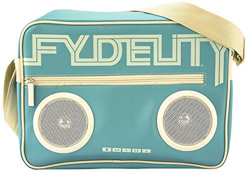 Fydelity Borsa Messenger Namesake G-Force borsa a tracolla, Stan Green (verde) - 92487 Straight Blue