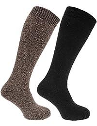 Herren Thermo-Socken, längere Länge, 2er-Pack