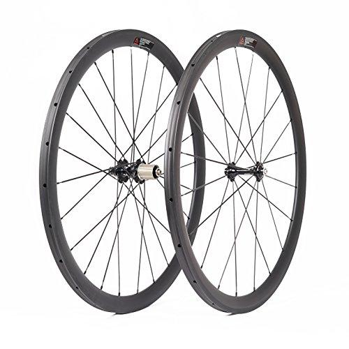 VCYCLE 700C Carbon Rennrad Laufradsatz 38mm Tubular 23mm Breite Basalt Bremsen Oberfläche Shimano oder Sram 8/9/10/11 Speed -