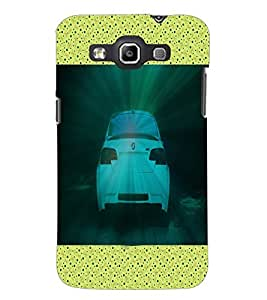PrintDhaba Car Rear D-3419 Back Case Cover for SAMSUNG GALAXY QUATTRO (Multi-Coloured)