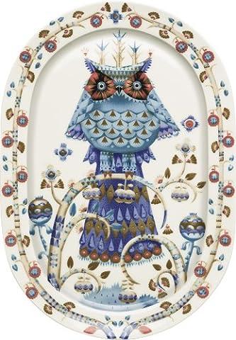 Iittala Taika Decorative White Platter
