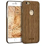 kalibri Apple iPhone 6 / 6S Hülle - Handy Holz Schutzhülle - Slim Cover Case Handyhülle für Apple iPhone 6 / 6S