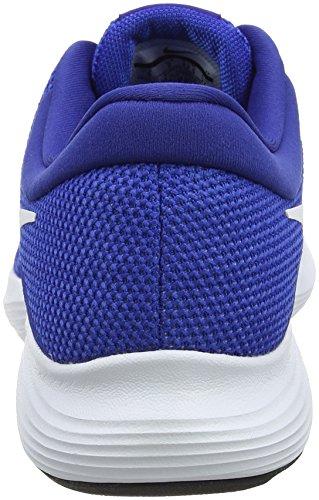 Nike Revolution 4, Chaussures de Running Homme Bleu (Game Royal/white/deep Royal Blue/black)