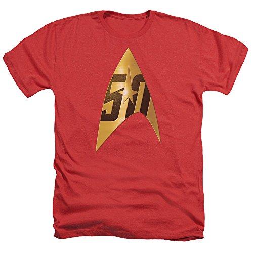 Star Trek -  T-shirt - Uomo Red
