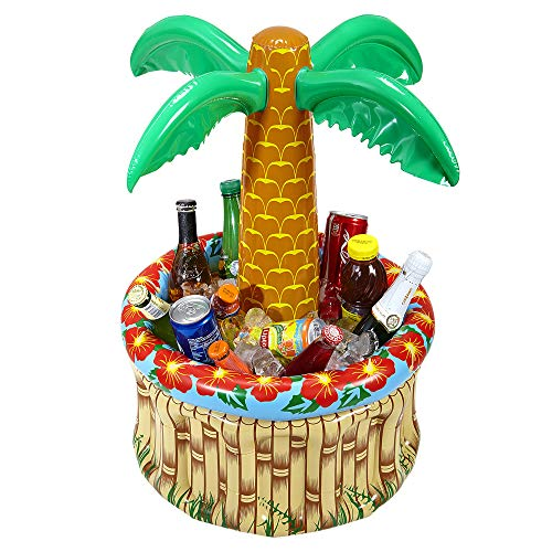 WIDMANN INFLATABLE BEACH PALM TREE PARTY DRINKS COOLER