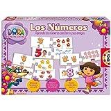 Educa Borrás 14917 - Los Números Dora La Exploradora