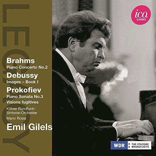 Emile Guilels Joue Brahms, Debussy Et Prokofiev