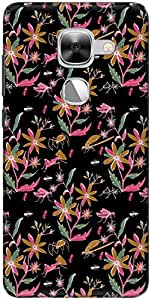 The Racoon Lean printed designer hard back mobile phone case cover for LeEco Le Max 2. (Night Floa)
