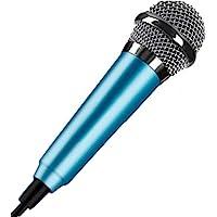 Mini 3,5 mm Kondensator-Mikrofon für Handy, Computer, Karaoke, Handheld, Kleiner Recorder für Handy mit Kabel, Karaoke