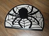 Unbekannt Türmatte Sauberlauf Halbrund 78 x 55 cm Spinnen Netz Fußmatte