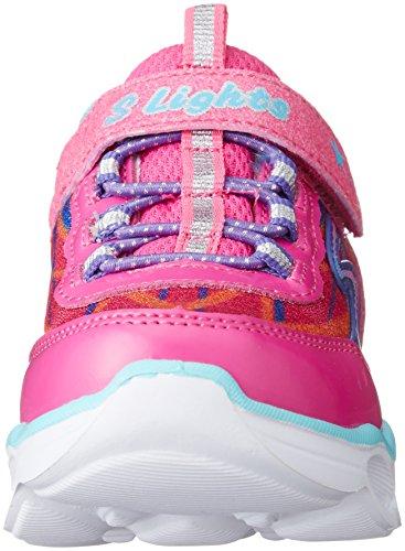 Skechers Lumos, Chaussures de Sport Fille Rose