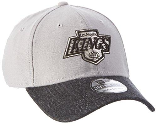 New Era Denim Mix Team Loskinvc Otc - Cap line Los Angeles Kings for Man, color Black, size