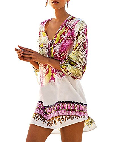 Fantasy Cover-ups Womens Topless Turtle Swimsuit Cover-Up