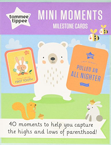 Tommee Tippee Mini Milestone Card (colori assortiti)