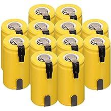 Baterías de NiCd recargables Anmas Power Sub C, ...