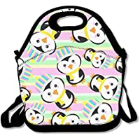 Colorful Pinguin Muster Lunch Bag passt für Schule Reise Outdoor preisvergleich bei kinderzimmerdekopreise.eu