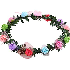 Flowery Headbands