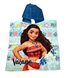 Poncho serviette Vaiana Disney 100% coton
