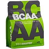 BCAA - aminoacidi ramificati compresse per la costruzione muscolare e la rigenerazione post-allenamento - 120 capsule vegane della TOOSHAPED