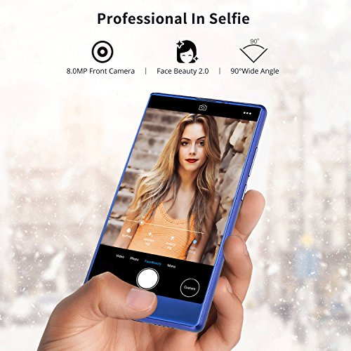 Smartphone Libre  DOOGEE Mix Lite Moviles Libres Baratos  5 2 Pulgadas  HD IPS - MT6737 4G Android 7 0 Telefonos - 13 0MP 13 0MP C  mara - 2GB   16GB