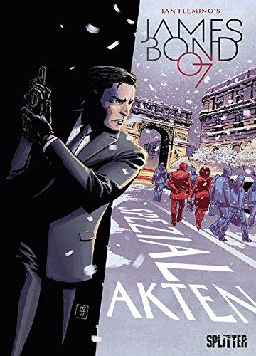 Buchcover James Bond. Band 7 (lim. Variant Edition): Spezialakten