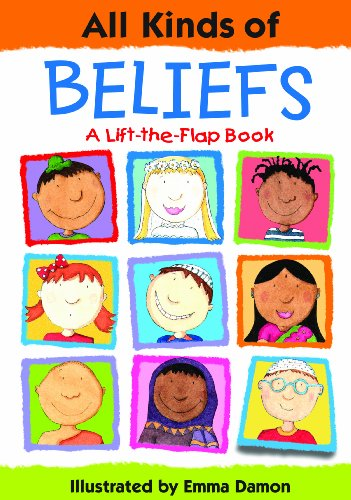 All Kinds of Beliefs: a Lift-the-Flap Book por Emma Damon
