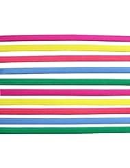 KurtzyTM Pack de 10 Delgadas Diademas Elásticas de Colores Banda para el Pelo Unisex de Deporte