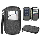 Die besten FINTIE Iphone - Fintie Reisegeldbeutel - RFID-blockierend Reisedokumente Organizer Brieftasche inkl Bewertungen