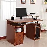 Mesa de Ordenador PC Mobiliario 120x55x85cm Oficina Despacho Escritorio Madera