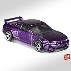 Tiny Toes Hot wheels 2018 Hot Nissan Skyline Gt-R R33 Blue 6/10 Then and Now