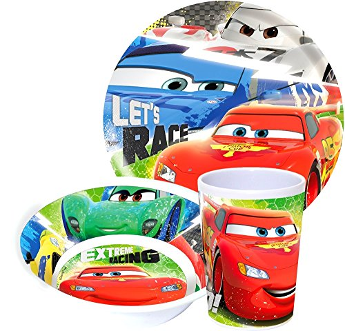 Disney Cars Kindergeschirr Set, Original Lizenzware