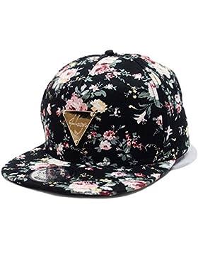 Gorras de beisbol gorra de Trucker sombrero de Snapback Hat Hip Hop Baseball Cap Sombrero Plano Dance Hat Moda...