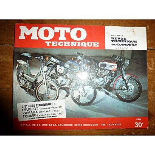 Ré-édition - 101 102 125 650 Revue Technique moto Peugeot Triumph Yamaha Etat - Bon Etat Occasion