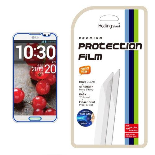 Healingshield Schutzfolie Displayschutz AB Anti-Blue Eye protection functional LCD screen protector for LG Optimus G Pro (Pro Optimus Protector Screen Lg)