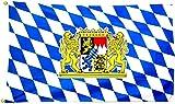 Fahne / Flagge Freistaat Bayern Löwen NEU 150 x 250 cm