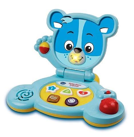 VTech Baby – Baby Bear Laptop Blue – Baby Ordi Ourson Bleu (Import Royaume-Uni)