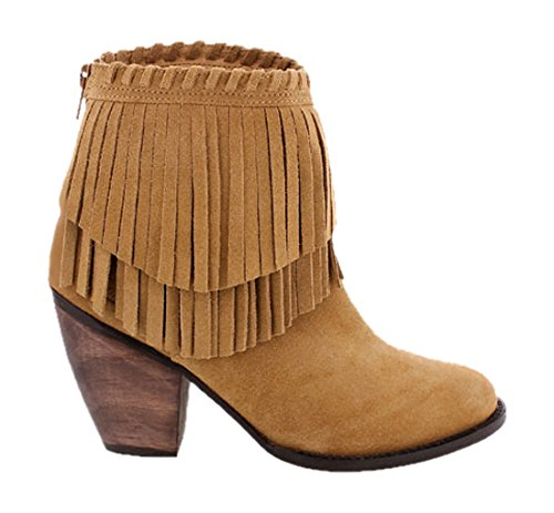 Mtng 94361 Serraje Mostaza, Bottes femme brown (SERRAJE MOSTAZA)