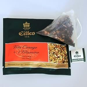Eilles Thé Vita Orange, 10 X 2,5G, Tea - Diamonds, Envellopés Individuellement