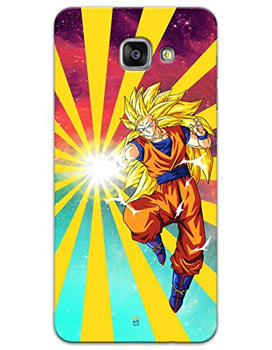 Samsung Galaxy J7 Max Cases & Covers - Dragon Ball Z Goku Raging Blast Case by myPhoneMate - Designer Printed Hard Matte Case - Protects from Scratch and Bumps & Drops.  available at amazon for Rs.494