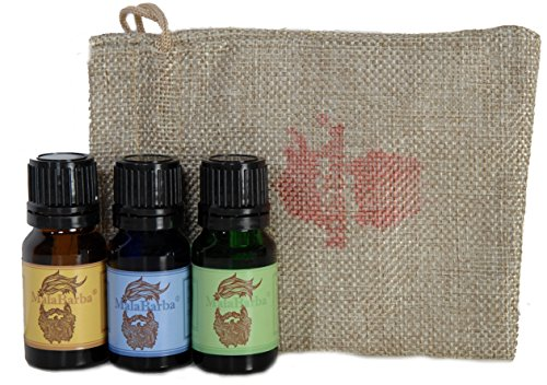Trio Acondicionadores Barba + bolsa regalo 3x10 ml