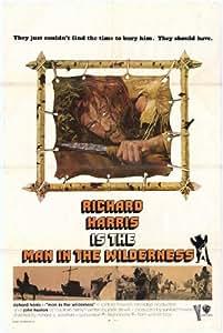 Man in the Wilderness - Movie Poster - 69x102 cm