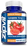 Lycopene 15mg, Pack of 60 Capsules, by Zipvit Vitamins Minerals & Supplements by Zipvit
