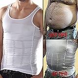 XL Men Gents Weight Loss Slim & Lift Slimming Shirt Waist Belt Body Shaper Vest -03