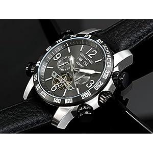 51wYpa8lGbL. SS300  - Calvaneo-12544-Reloj-correa-de-cuero-color-negro
