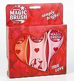 Magic Brush Pferdebüsten 3er Set im Design True Love
