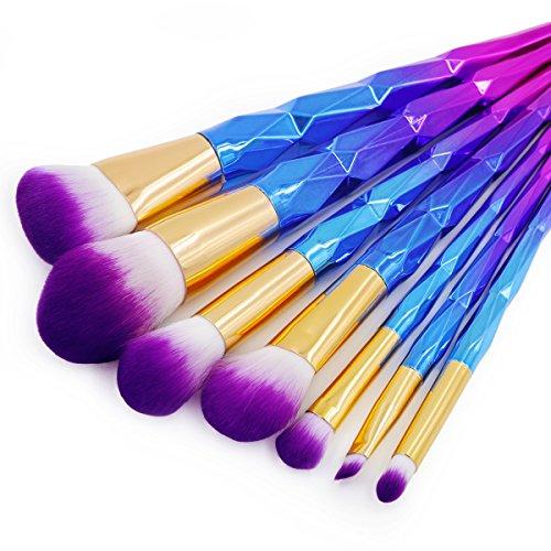I-Dragon 7PCS/Set Professional Makeup Brushes Foundation Eyshadow Blusher Powder Blending Cosmetic Brush Makeup Brush Set