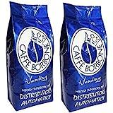 6 Buste Confezioni 1 kg Caffe' Borbone in Grani Miscela Blu Vending Originale