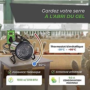 Coussin De Chauffage Hydroponique Impermé Electronique Tapis Chauffant 24X52Cm