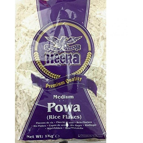 Heera Rice Flakes Medium (Poha) – 1kg